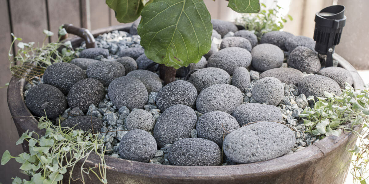Volcanic Earth Pebbles