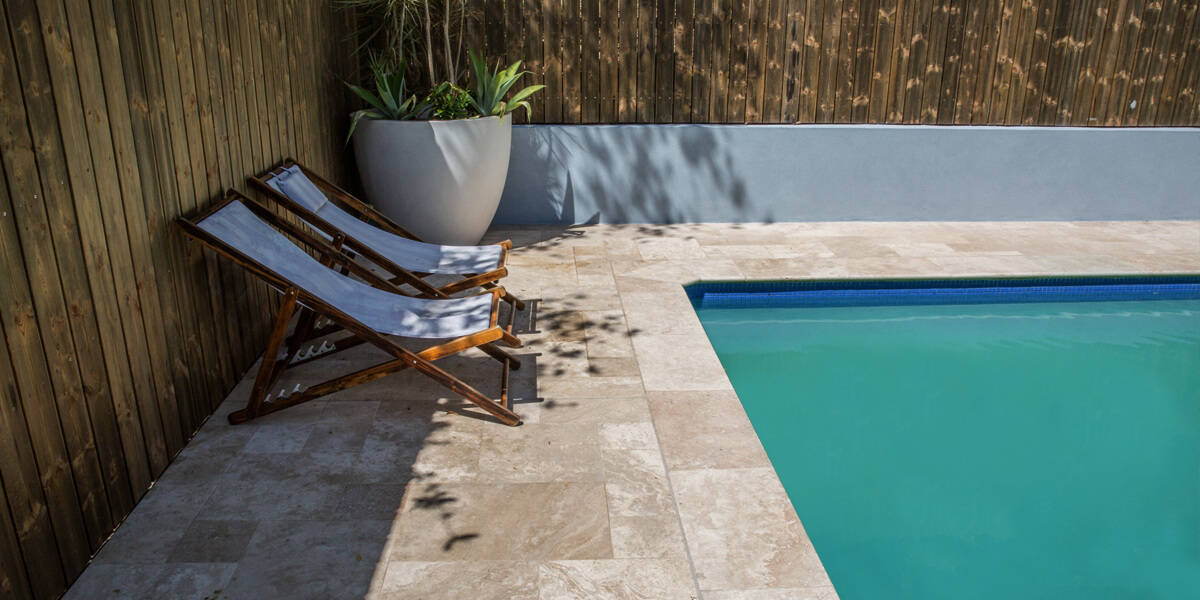 Cinnamon Travertine Pavers