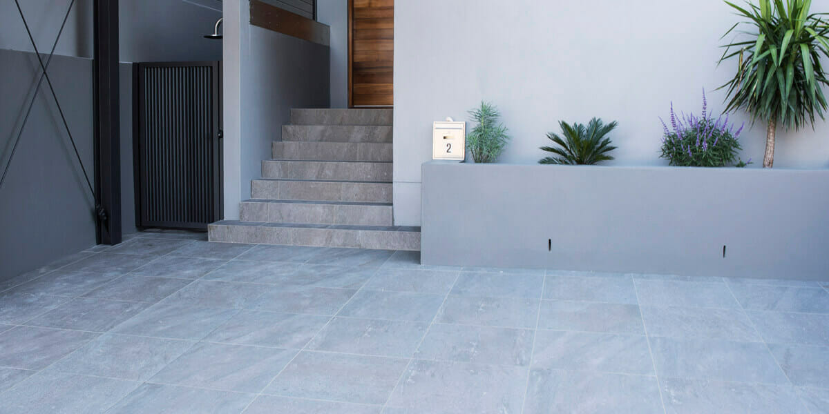 Grey Quartz Porcelain Pavers