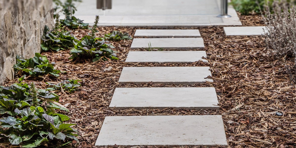 Leggero Travertine Stepping Stones