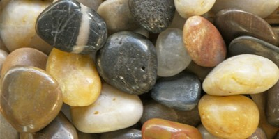 Mixed Polished Garden Pebbles