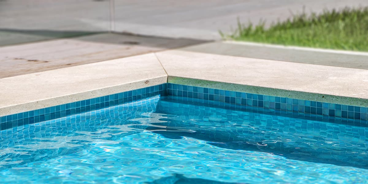 Best way to clean pool tile | How to clean glass pool tile ...