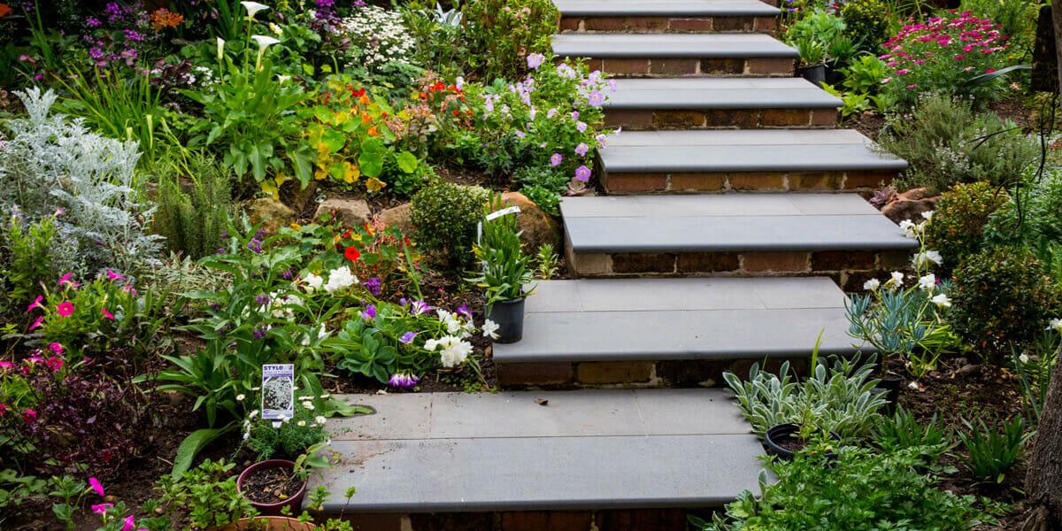 Bluestone Step Treads