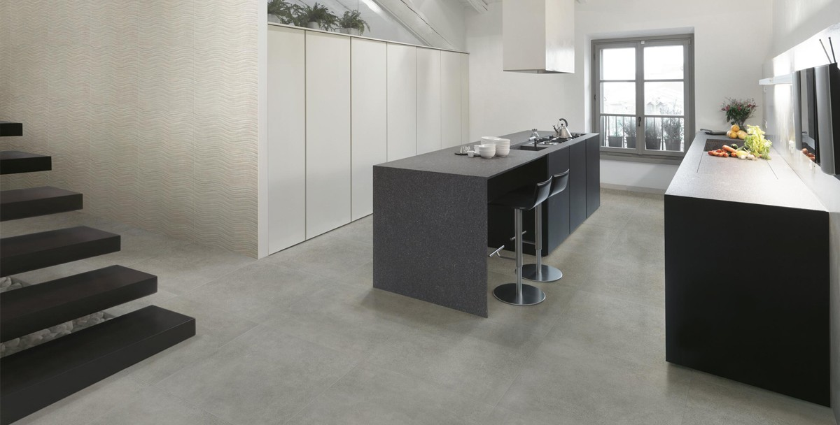 Grigio Porcelain Floor Tiles