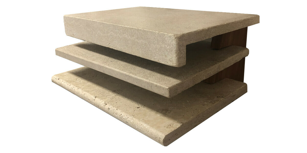 Travertine Coping Profiles