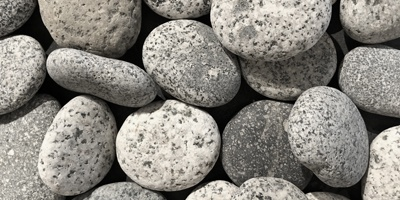 Speckled Natural Garden Pebbles